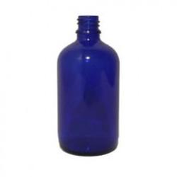 Sklenená fľaška 100ml - modrá