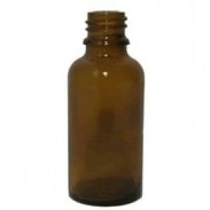 Sklenená fľaška 30ml - hnedá