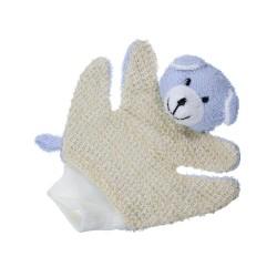 Mycia rukavica so zvieratkom - Macko modrý