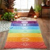 Dekor textilný - čakrový 150cm