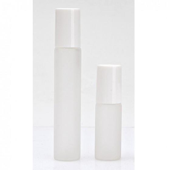 Sklenená fľaška 5ml, 10ml - Roll On - biela