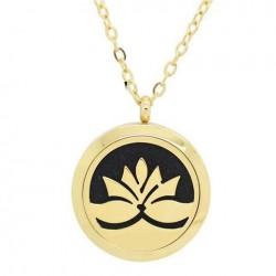Aroma prívesok - Lotosový kvet zlatý