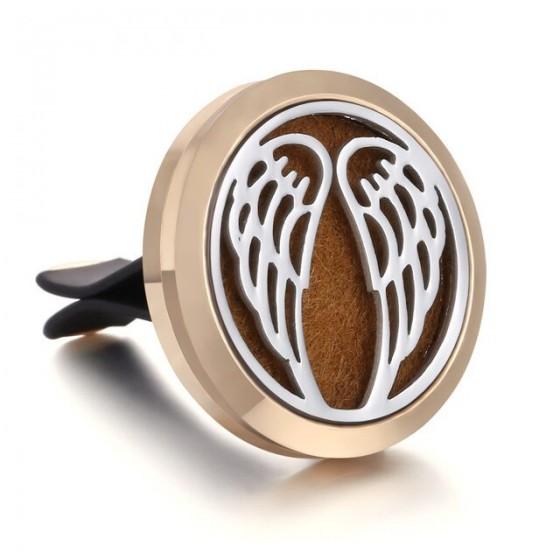 Aroma difuzér do auta - Anjelske krídla zlatý