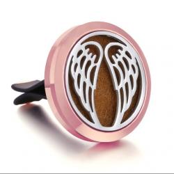 Aroma difuzér do auta - Anjelske krídla ružové