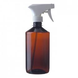 Plastová fľaška s pákovým rozprašovačom 500ml