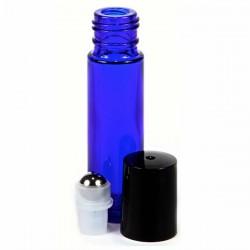 Sklenená fľaška 10ml - Roll On - modrá