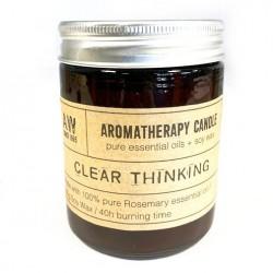 Sójová sviečka aromaterapeutická - Jasné myslenie