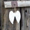 Dekorácia nástenná - Anjelské krídla 15cm