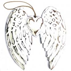 Dekorácia nástenná - Anjelské krídla 24cm