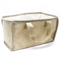 Jutová nákupná taška - natural