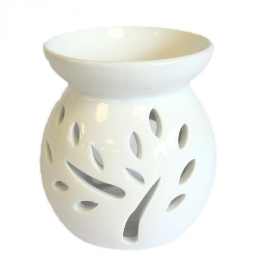 Aromalampa - klasická biela strom - mini