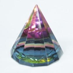 Magická pyramídka 6cm - 12 Stranová
