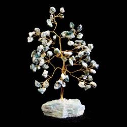 Stromček šťastia - Achát stromový 80