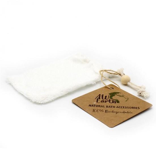Bambusové vrecko na mydlo