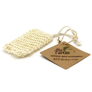Sisalové vrecko na mydlo