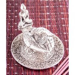 Stojan na tyčinky - kov - Buddha 4