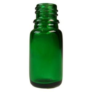 Sklenená fľaška 10ml - zelená