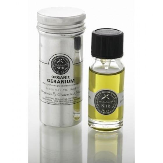 Organický éterický olej - Geránium - NHR