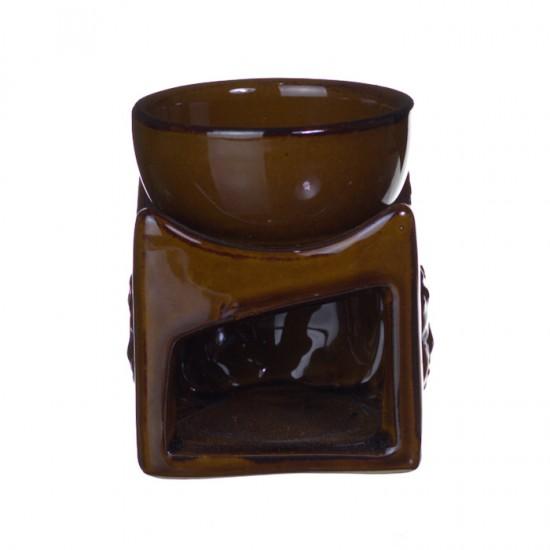 Aromalampa - budha - hnedá