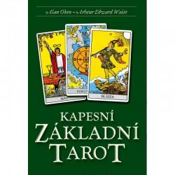 Karty a kniha - Vreckový základný tarot