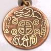 Amulet symbol 02 - Kórejská minca šťastia