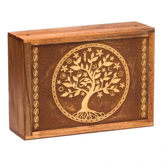 Box na vykladacie karty - strom života D