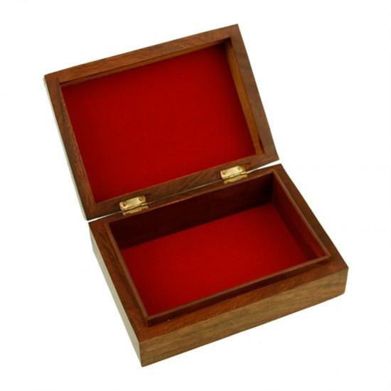 Box na vykladacie karty - drevený OM