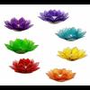 Svietnik čakrový so 7 lotosovými lampášmi 2