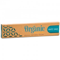 Vonné tyčinky - Organic - Biela Šalvia