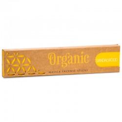 Vonné tyčinky - Organic - Santal