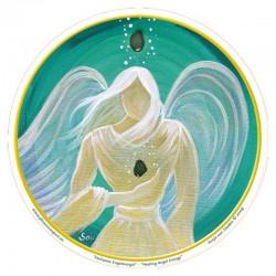 Mandala okenná nalepovacia 10,5cm - Anjel Liečivej Energie