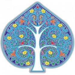 Mandala okenná nalepovacia - Strom života 2