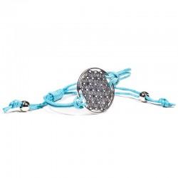 Náramok - Kvet života - tyrkysový