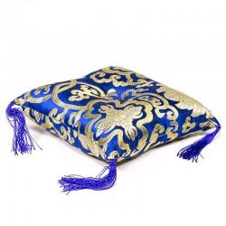 Poduška pod tibetskú misku 12cm modrá