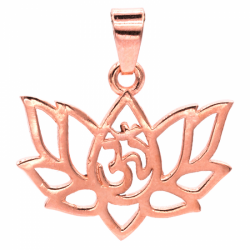 Prívesok mosadzný - Lotus