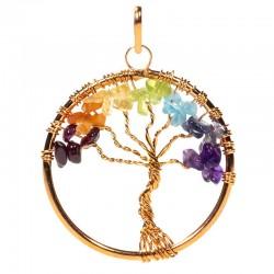 Prívesok - strom čakrový medený