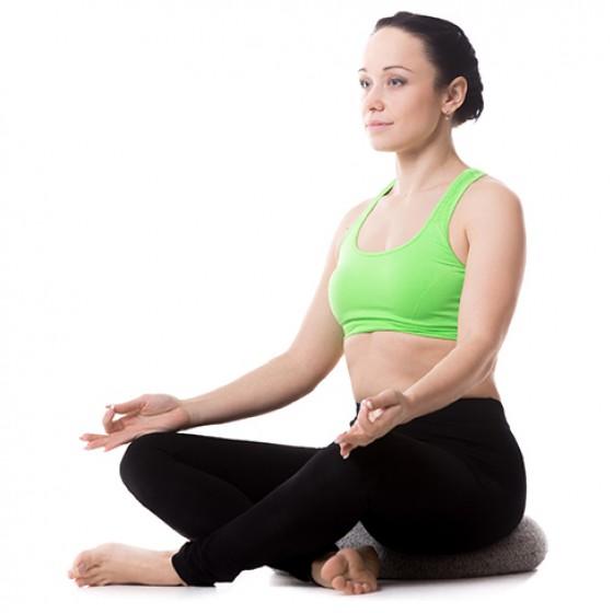 Meditačný vankúš - červený