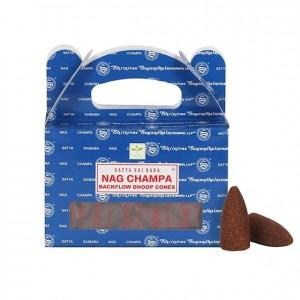 Vonné kužele Tečúci dym - Nag Champa - Satya