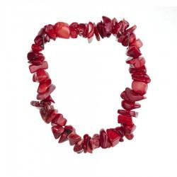 Náramok - Koral červený
