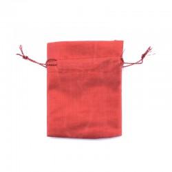 Organzové vrecko S - červené