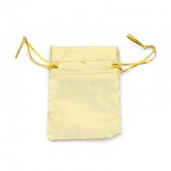 Organzové vrecko S - zlaté