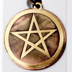 Amulet symbol 31 - Moc svetla - biely pentagram