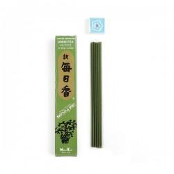 Japonské vonné tyčinky Nippon 50ks Zelený čaj