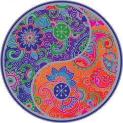 Mandala okenná nalepovacia - Yin Yang 2