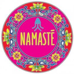 Mandala okenná nalepovacia - Namasté