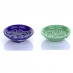 Stojan na tyčinky - modrý/zelený