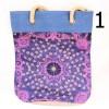 Eko nákupná jutová taška typ 3 - modrá