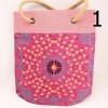 Eko nákupná jutová taška typ 3 - ružová