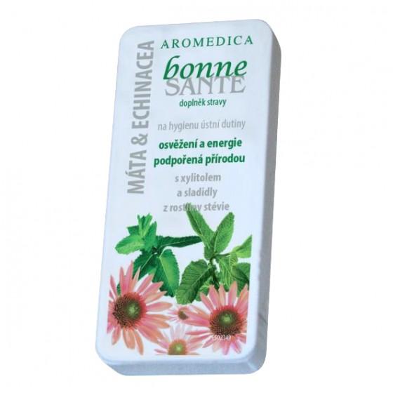 Ústne kozmetické tablety BONNE SANTÉ®  - Mäta pieporná, mäta kučeravá, echinacea