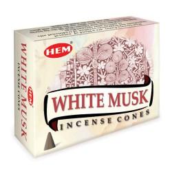 Františky - vonné kužele - White Musk
